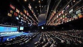 Congresso da Fifa com móveis alugados da Rental Brasil