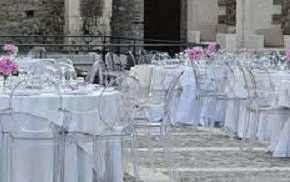 Aluguel de Mesas e Cadeiras no Castelo em Campinas
